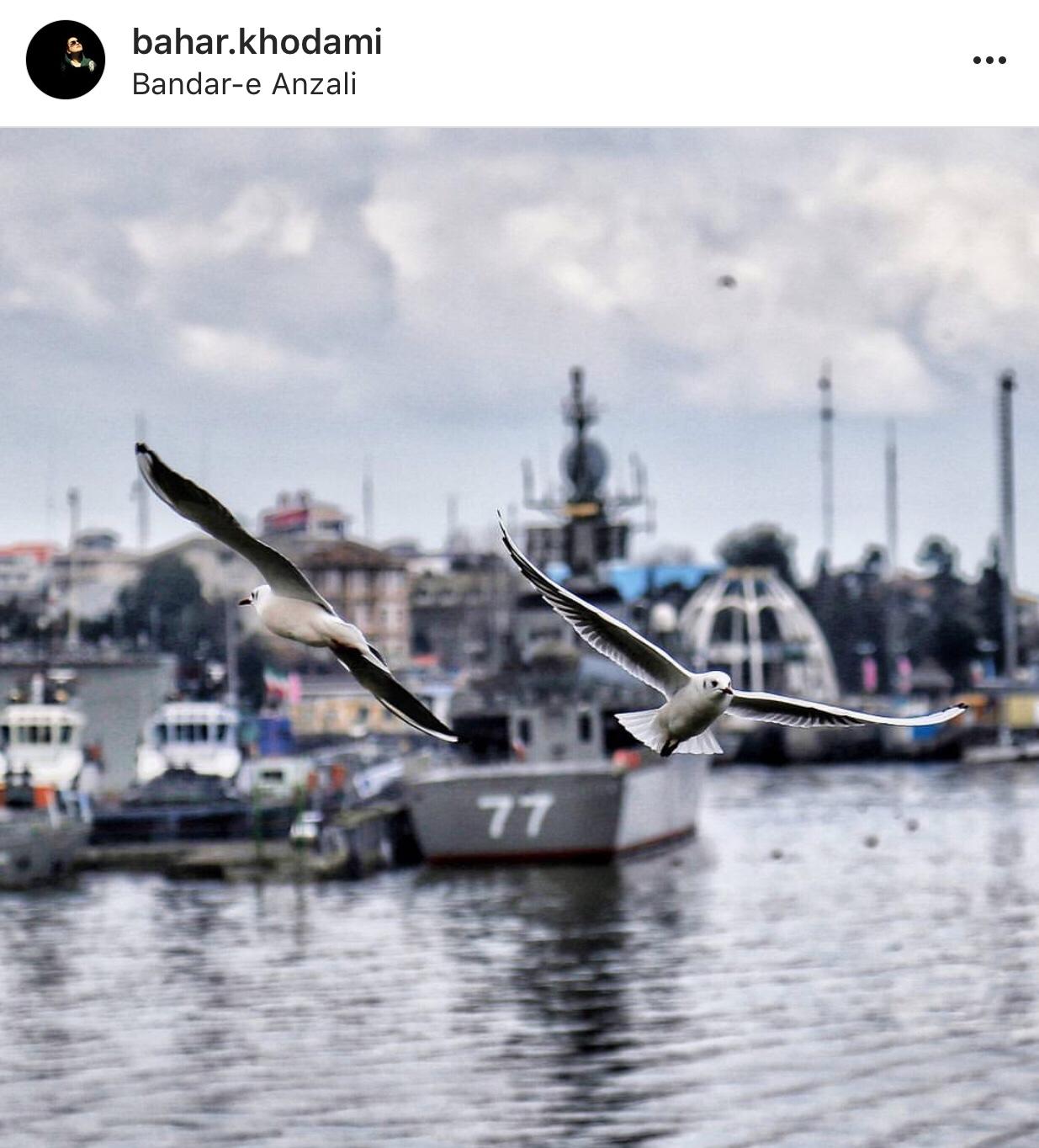 عدسة إيرانية: ميناء بندر أنزلي 1