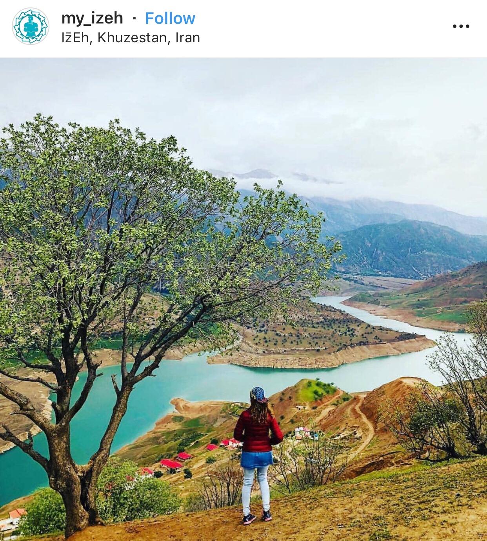 عدسة إيرانية: منطقة ايذه في محافظة خوزستان 3