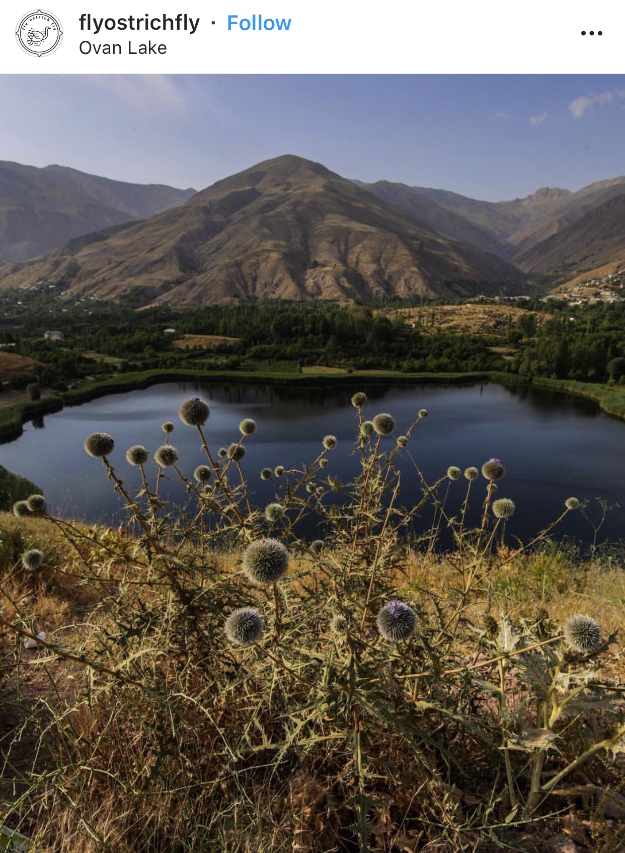 عدسة إيرانية: بحيرة اوان بالقرب من قزوين 1