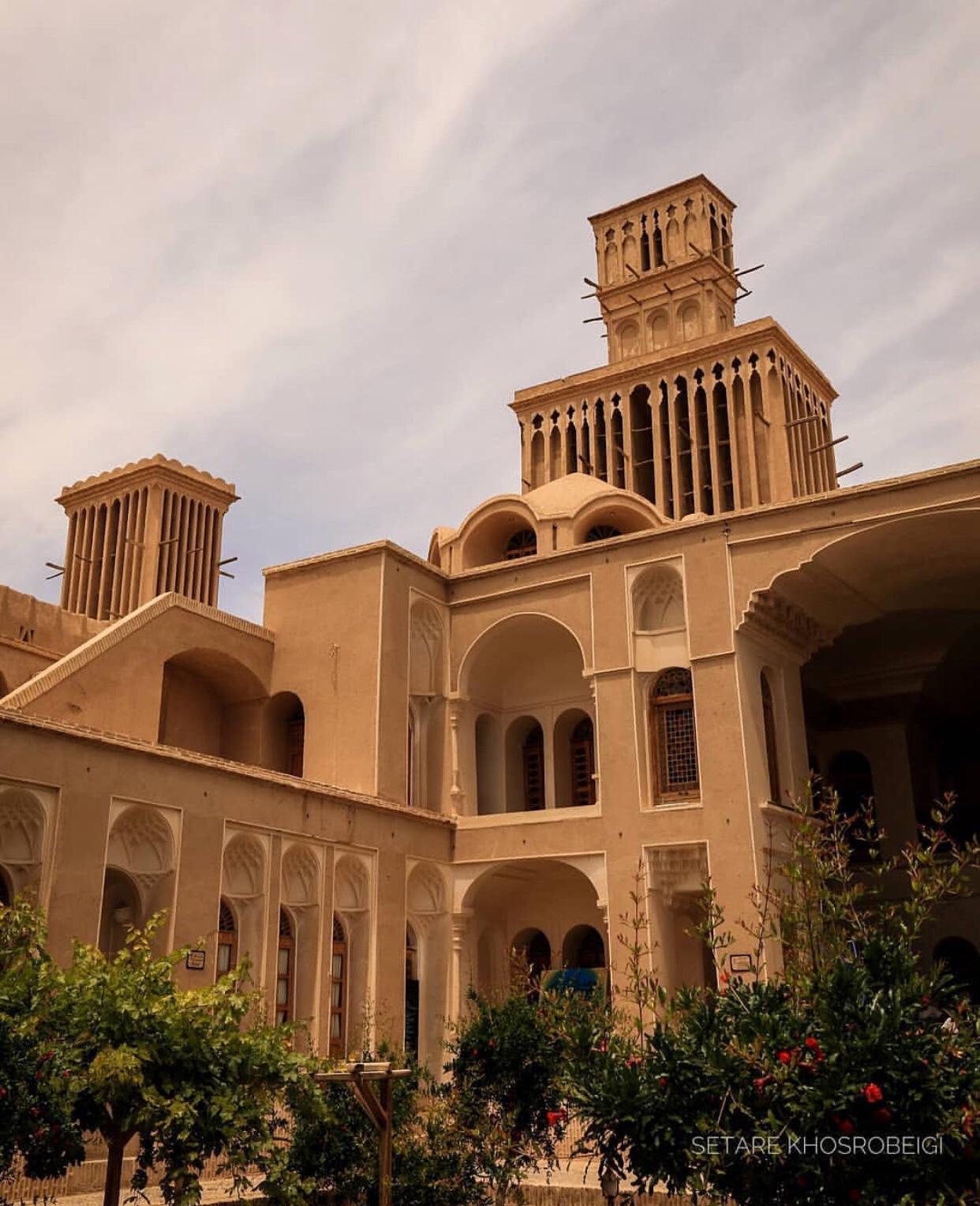 عدسة إيرانية: لاقط الهواء في يزد، منظومة تبريد تقليدية في مدينة وسط الصحراء 3