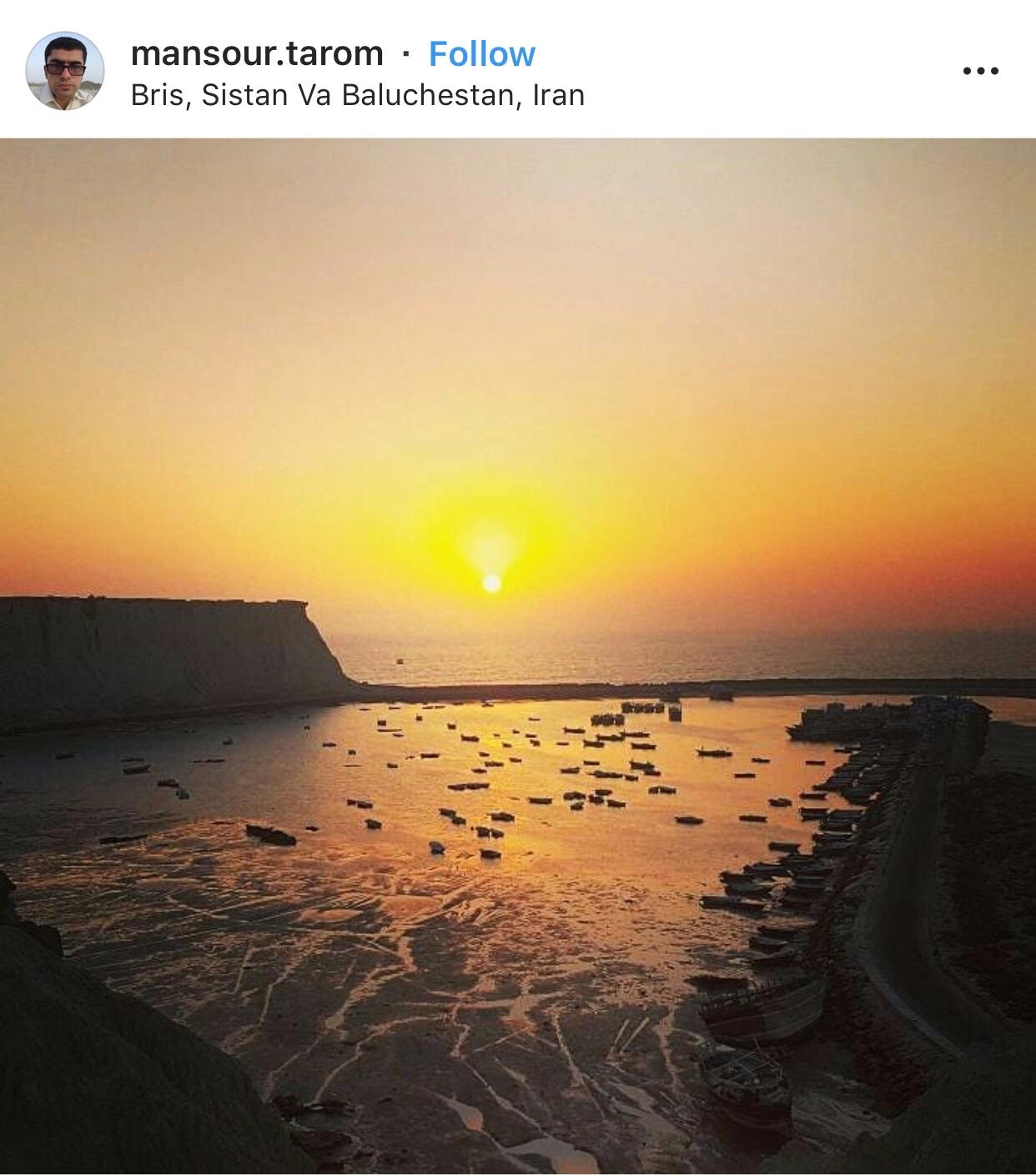 عدسة إيرانية: ساحل برس في سيستان و بالوشستان جنوبي إيران 1
