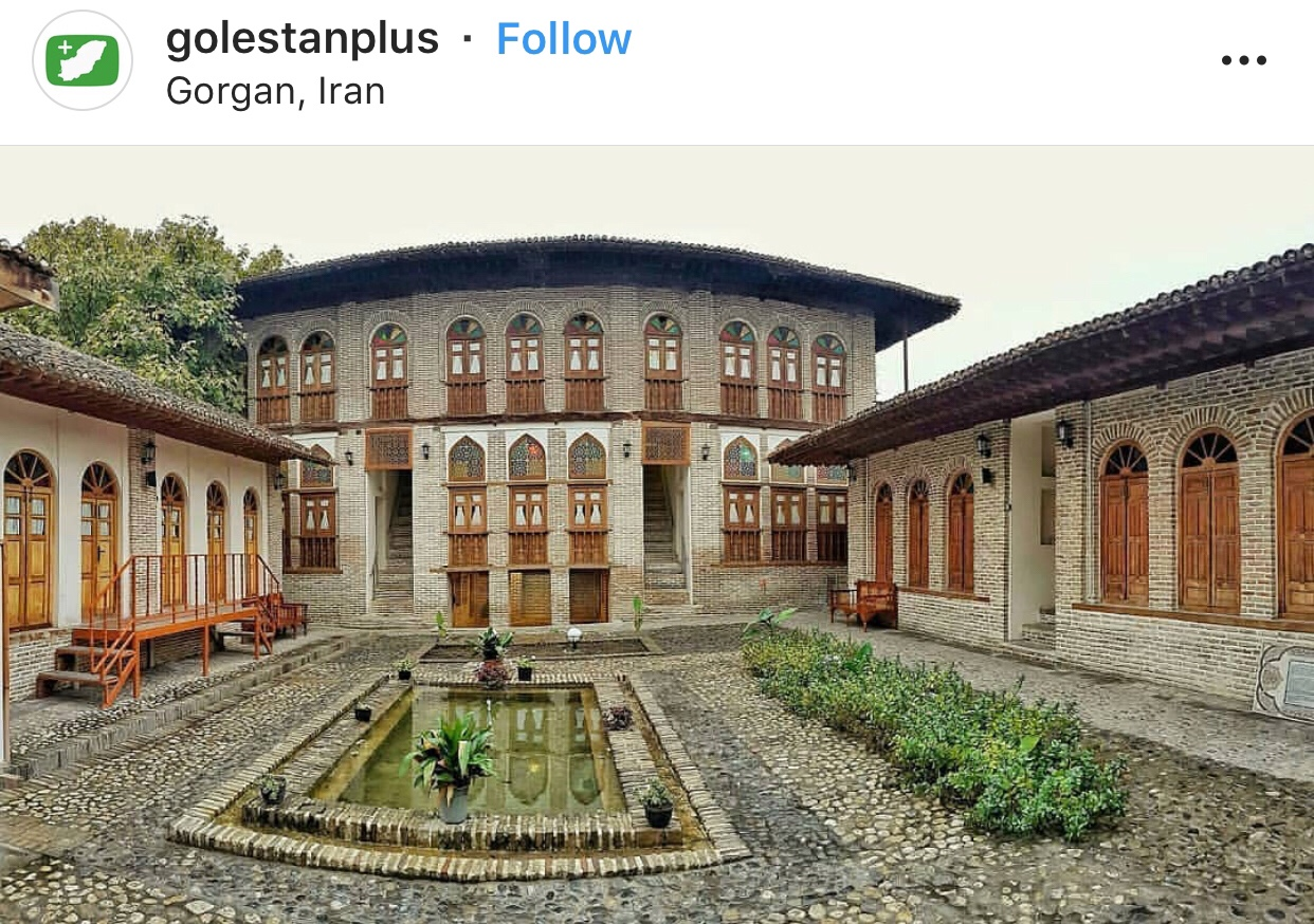 عدسة إيرانية: بيت أمير لطيفي التراثي في كُركان في محافظة كُلستان 1