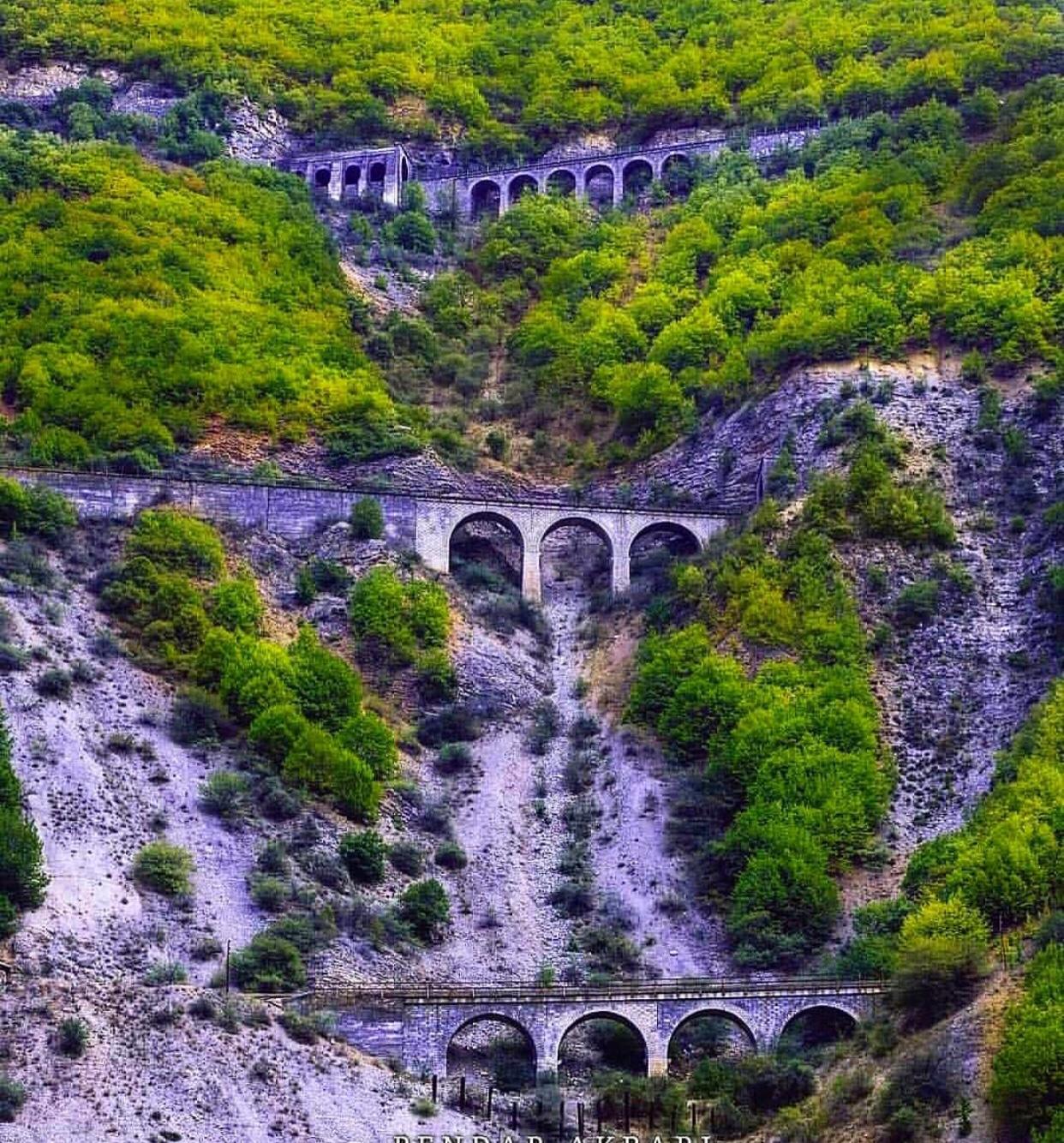 عدسة إيرانية: جبل ساواد في محافظة مازندران 1