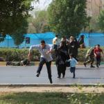 استعراض عسكري تحت النار في ايران، بالصور كيف وقع الهجوم المسلح في الأهواز؟ 22