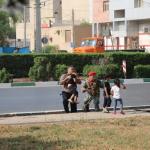 استعراض عسكري تحت النار في ايران، بالصور كيف وقع الهجوم المسلح في الأهواز؟ 3