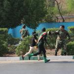 استعراض عسكري تحت النار في ايران، بالصور كيف وقع الهجوم المسلح في الأهواز؟ 16
