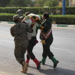 استعراض عسكري تحت النار في ايران، بالصور كيف وقع الهجوم المسلح في الأهواز؟ 10
