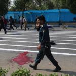 استعراض عسكري تحت النار في ايران، بالصور كيف وقع الهجوم المسلح في الأهواز؟ 20