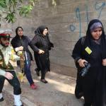 استعراض عسكري تحت النار في ايران، بالصور كيف وقع الهجوم المسلح في الأهواز؟ 27