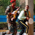 استعراض عسكري تحت النار في ايران، بالصور كيف وقع الهجوم المسلح في الأهواز؟ 38