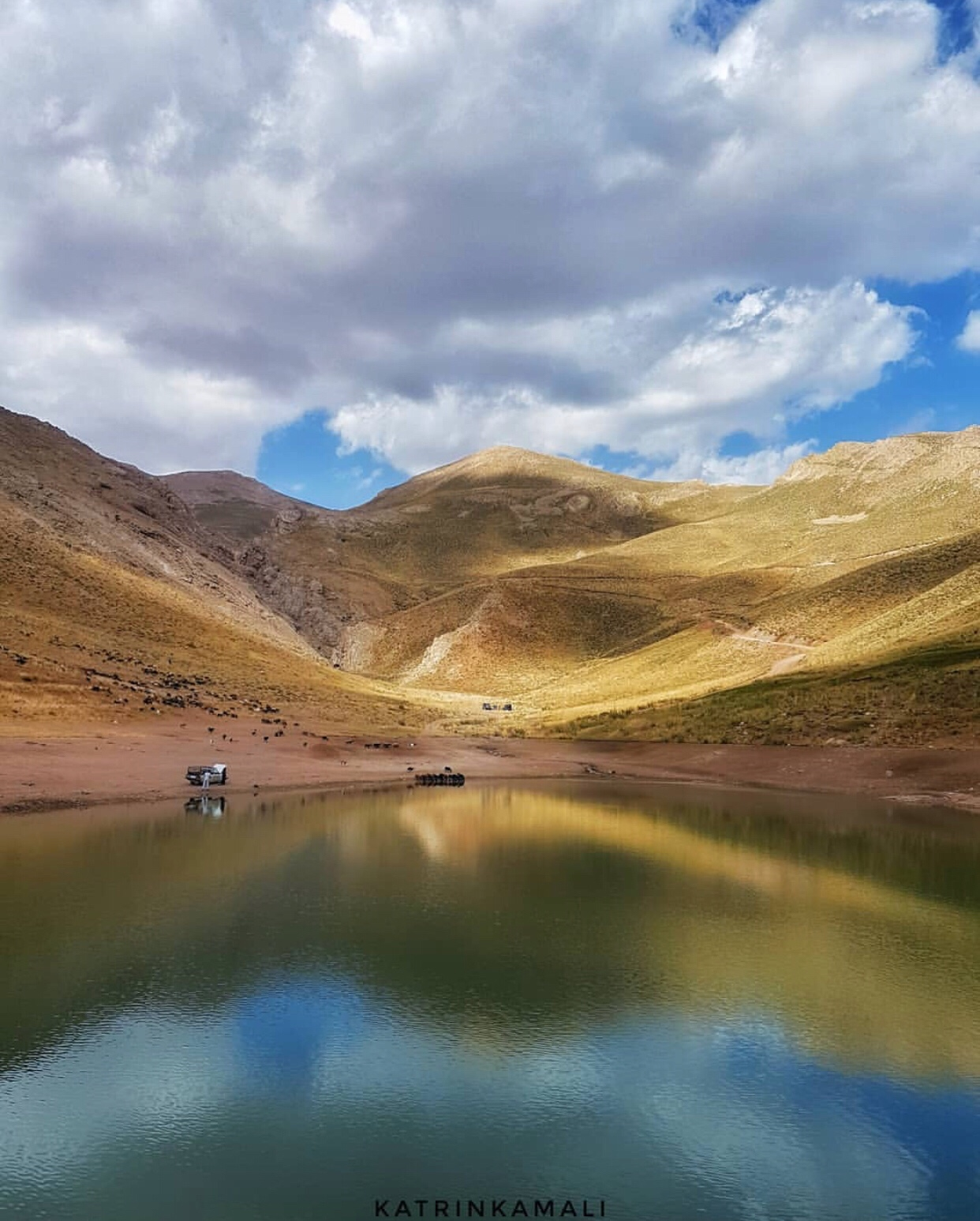 عدسة إيرانية: بحيرة لزور بالقرب من طهران 3