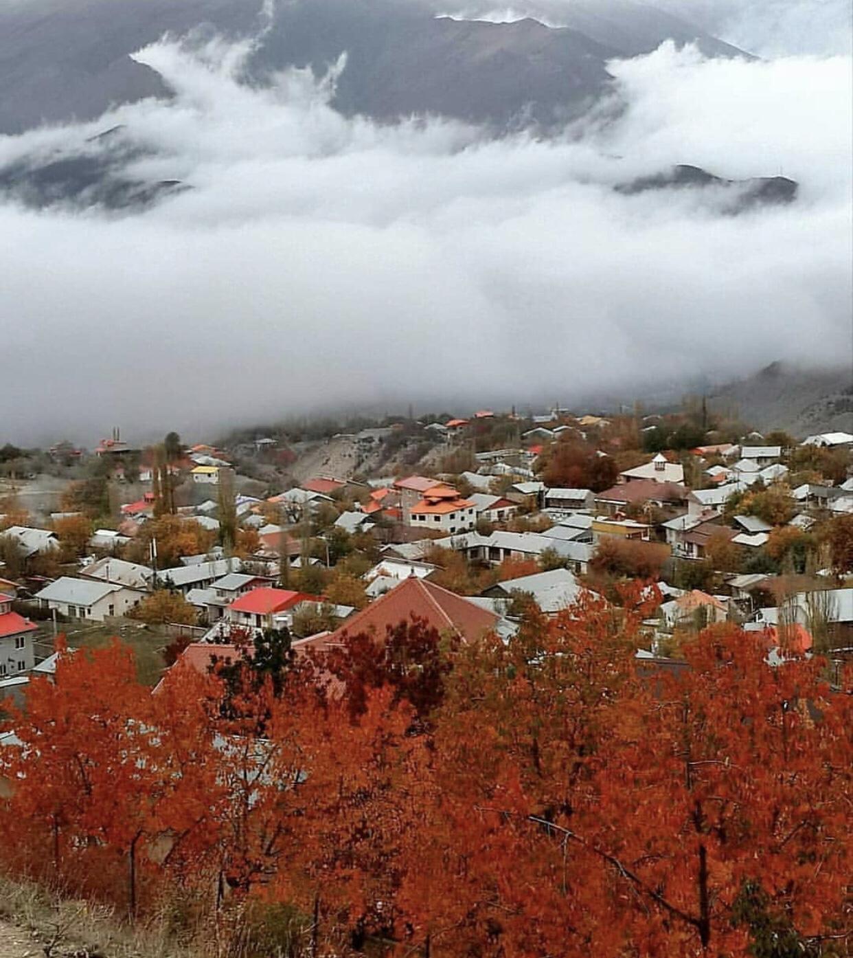 عدسة ايرانية: دخول الخريف في مازندران شمالي ايران 3
