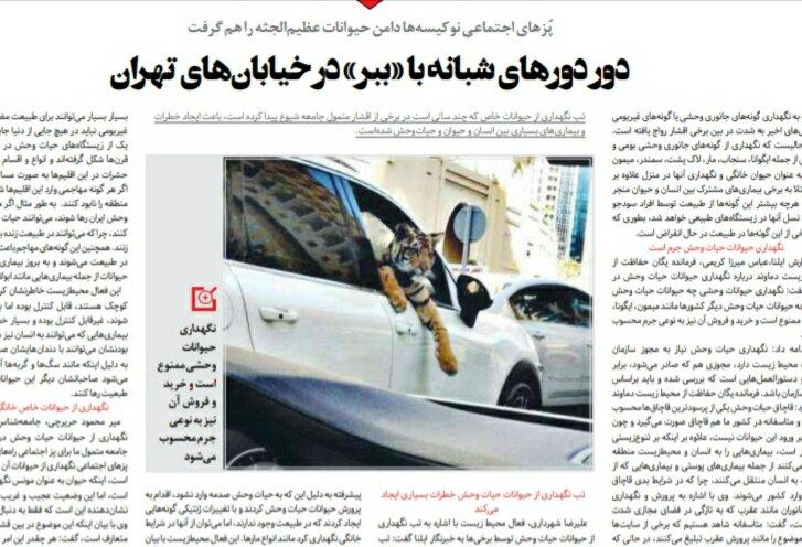 بين الصفحات الإيرانية: جدل حول (فاتف) لدرجة التخوين وسيول الشمال تكشف ضعف الخدمات 2