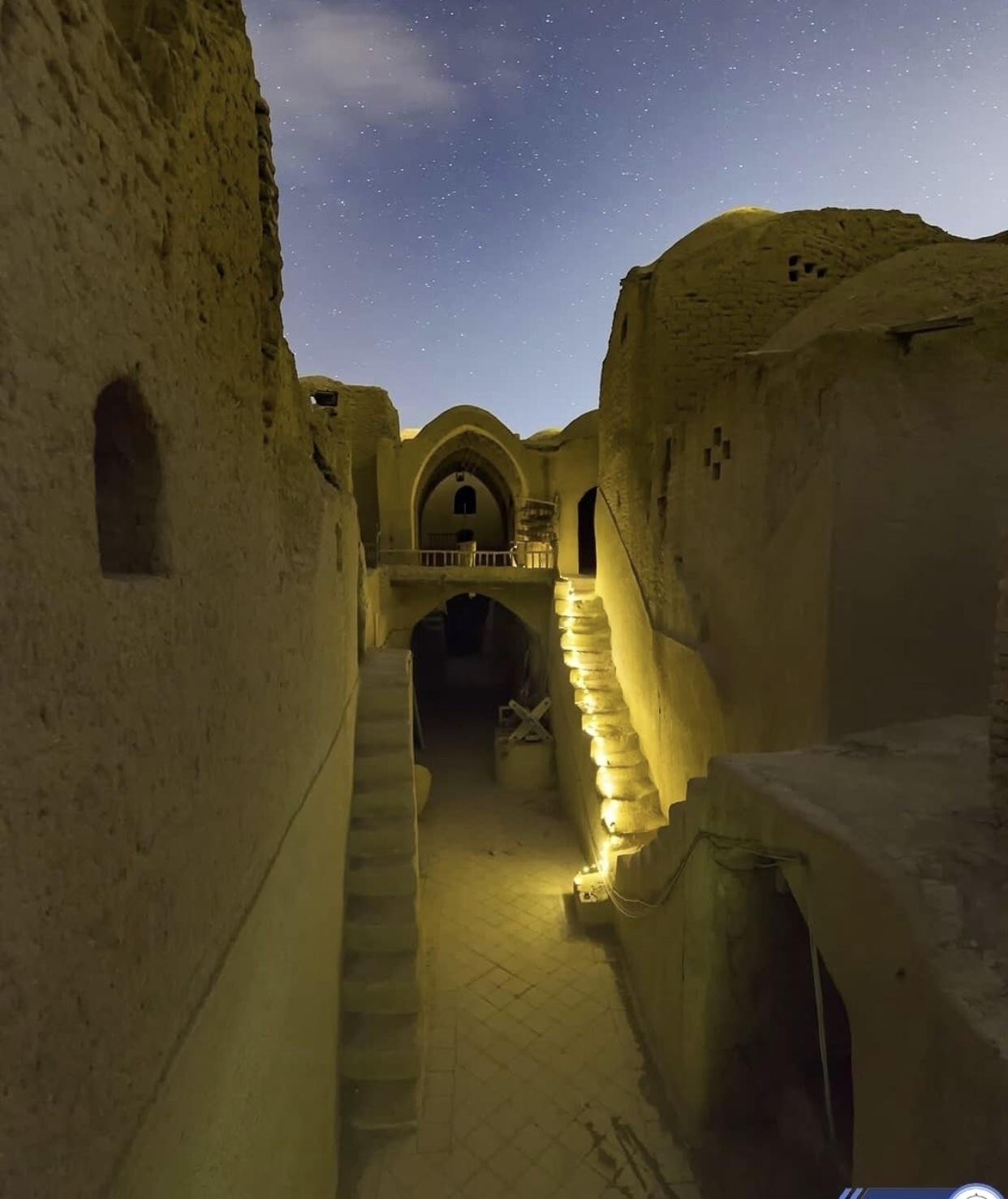 عدسة إيرانية: البيوت الأثرية في مدينة يزد 3