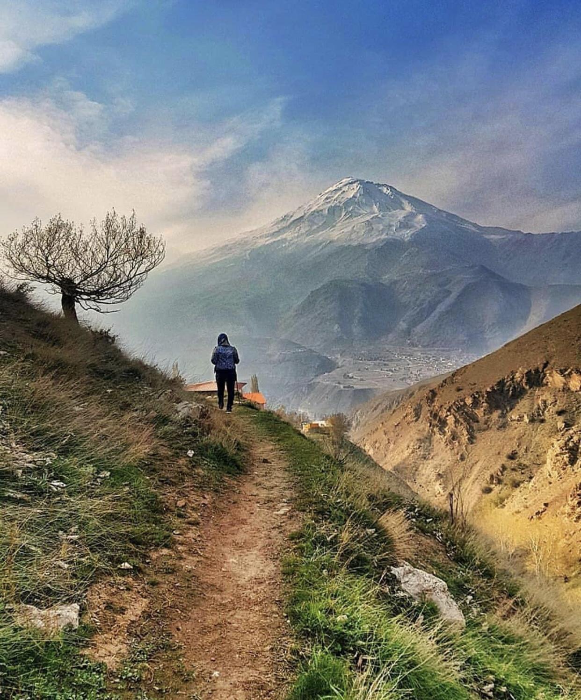 عدسة إيرانية: جبل دماوند حيث اعلى قمم إيران 1