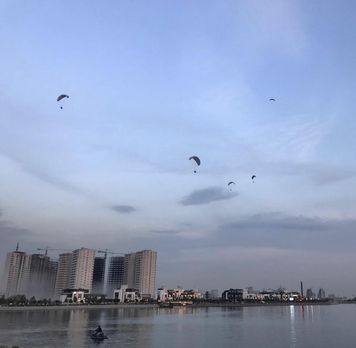 عدسة إيرانية: بحيرة تشيتكر غربي طهران 3
