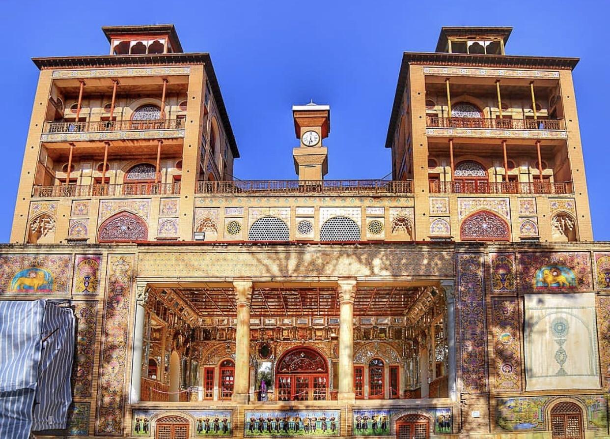 عدسة ايرانية: قصر گلستان في طهران 1