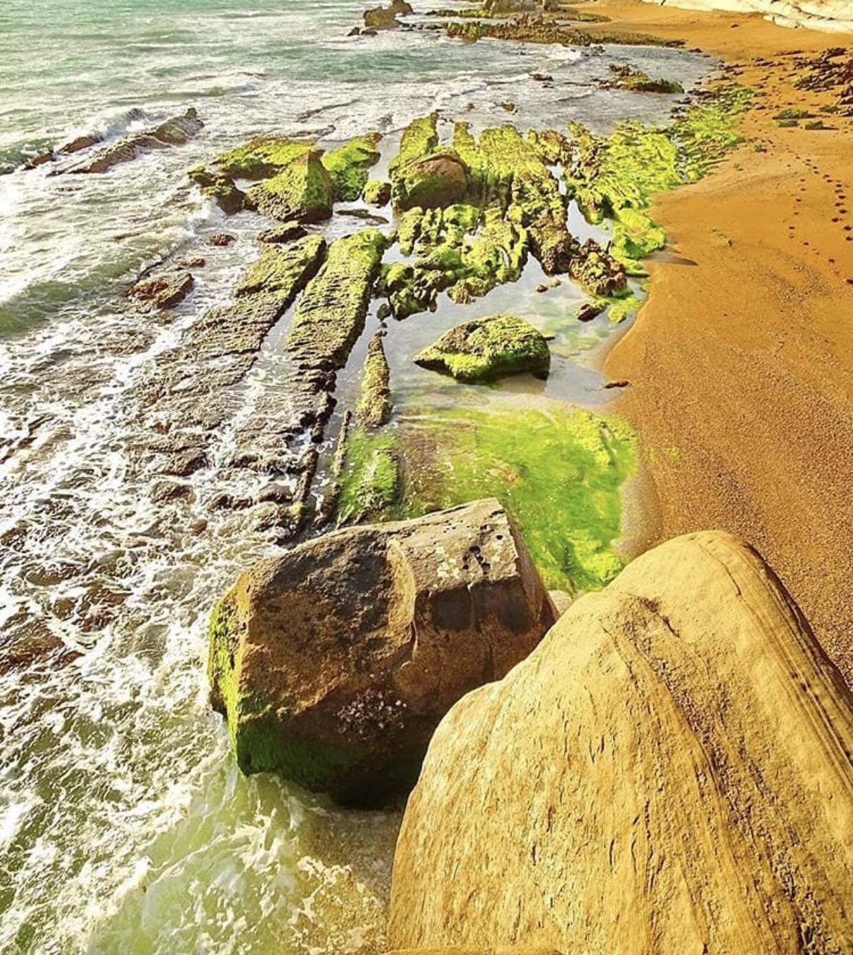 عدسة إيرانية: شاطئ بارسيان في هرمزگان جنوبي ايران 3