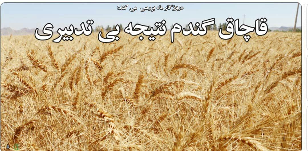 بين الصفحات الإيرانية: أسباب الفساد في إيران والتهريب ملجأ العاطلين عن العمل 2