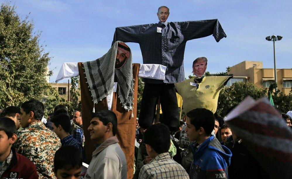 """بالصور: إيران تحيي """" يوم مقارعة الاستكبار"""" 1"""