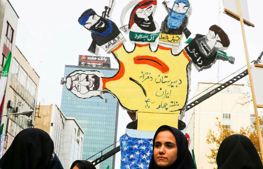 """بالصور: إيران تحيي """" يوم مقارعة الاستكبار"""" 26"""