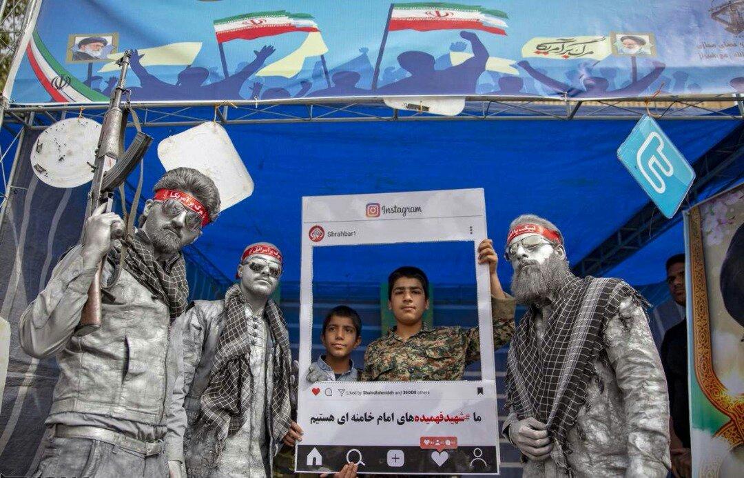 """بالصور: إيران تحيي """" يوم مقارعة الاستكبار"""" 19"""