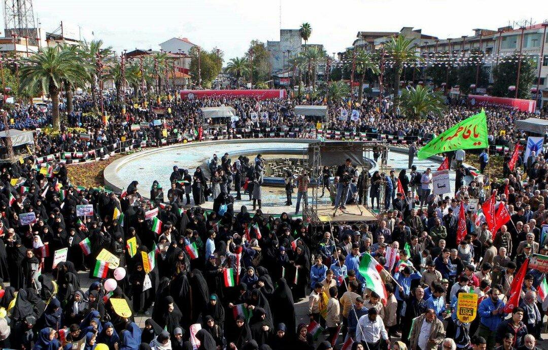 """بالصور: إيران تحيي """" يوم مقارعة الاستكبار"""" 17"""
