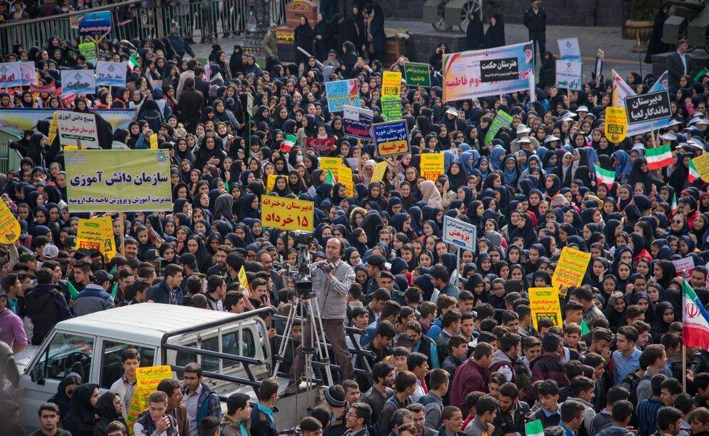 """بالصور: إيران تحيي """" يوم مقارعة الاستكبار"""" 16"""