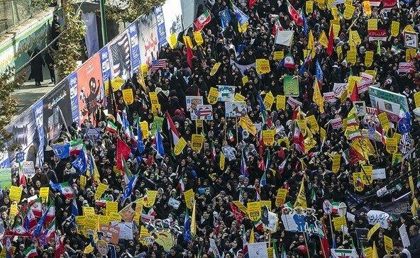 """بالصور: إيران تحيي """" يوم مقارعة الاستكبار"""" 6"""