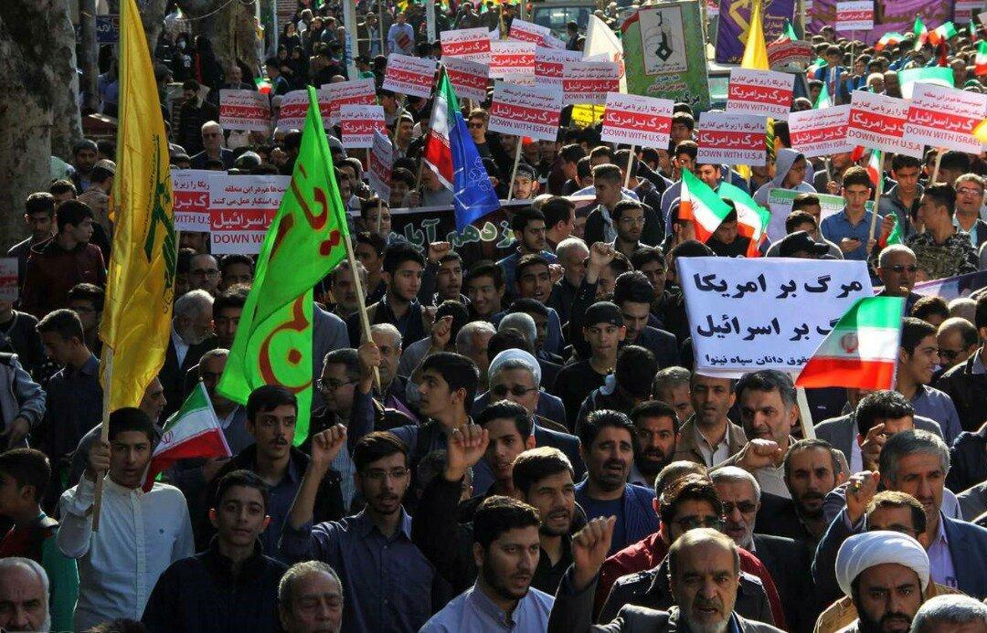 """بالصور: إيران تحيي """" يوم مقارعة الاستكبار"""" 5"""