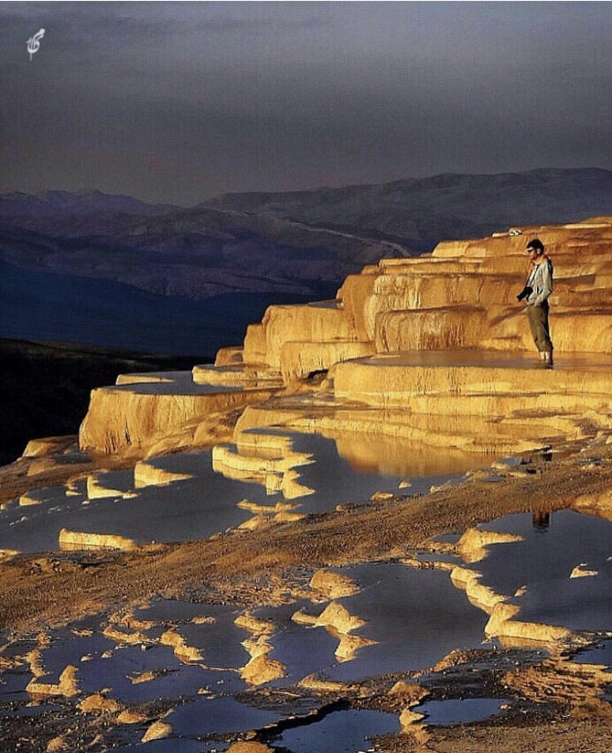 عدسة إيرانية: باداب سورت حيث النبع الطبيعي الفريد من نوعه بالقرب من مازندران 1