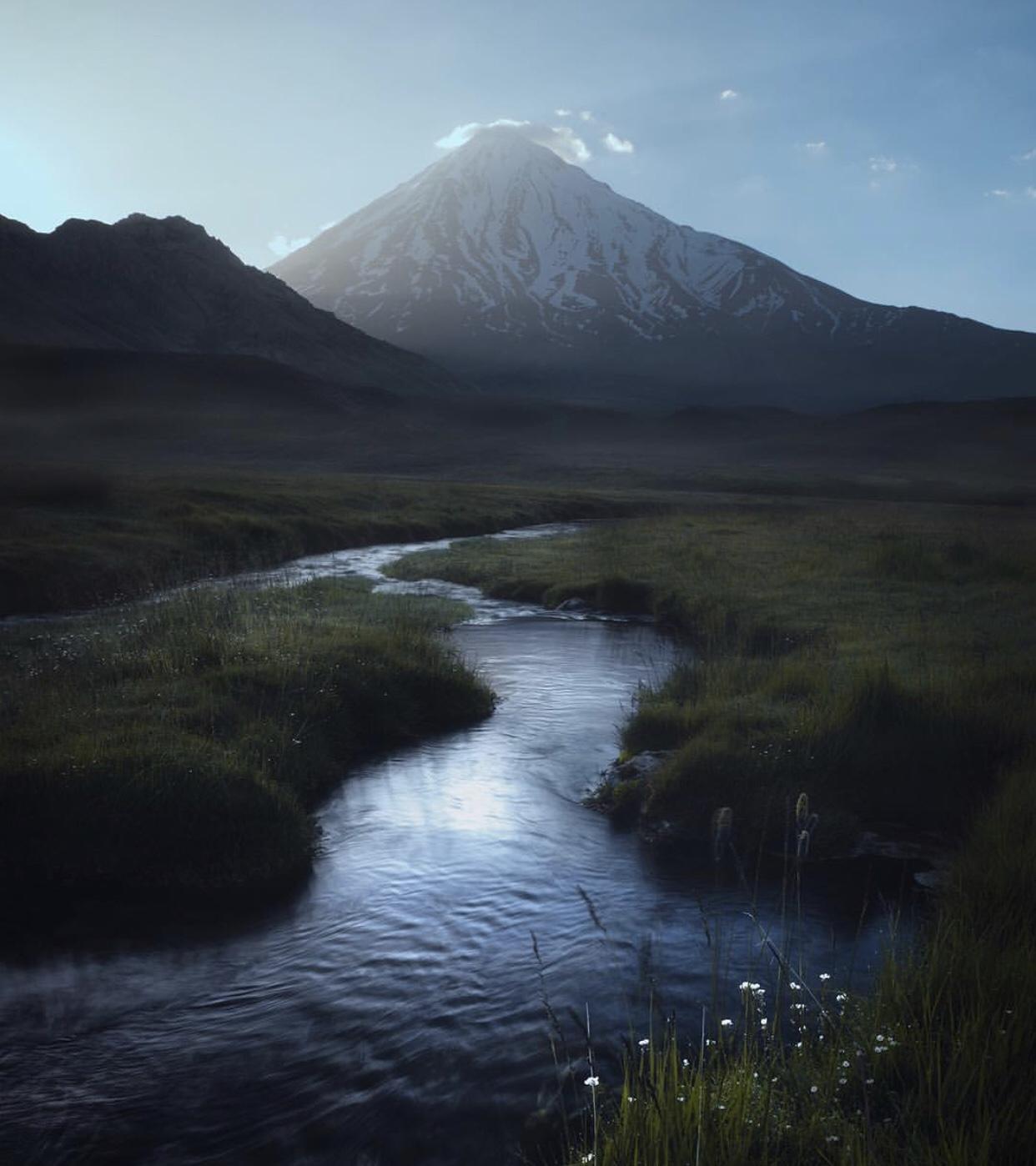 عدسة إيرانية: قمة جبل دماوند 1
