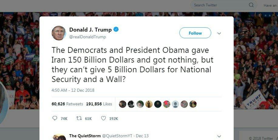 واشنطن- طهران: الواشنطن بوست ترد على تغريدة ترامب عن إيران 1