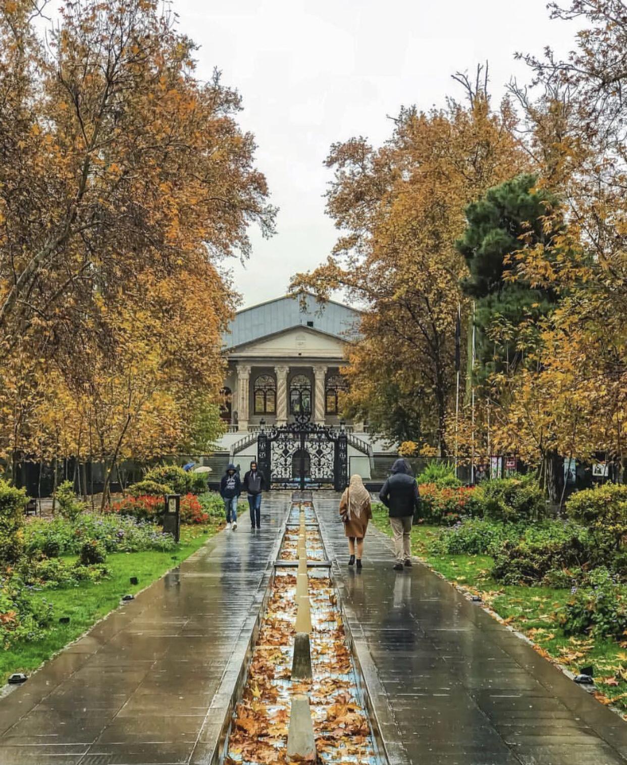 عدسة إيرانية: حديقة الفردوس ومتحف السينما 1