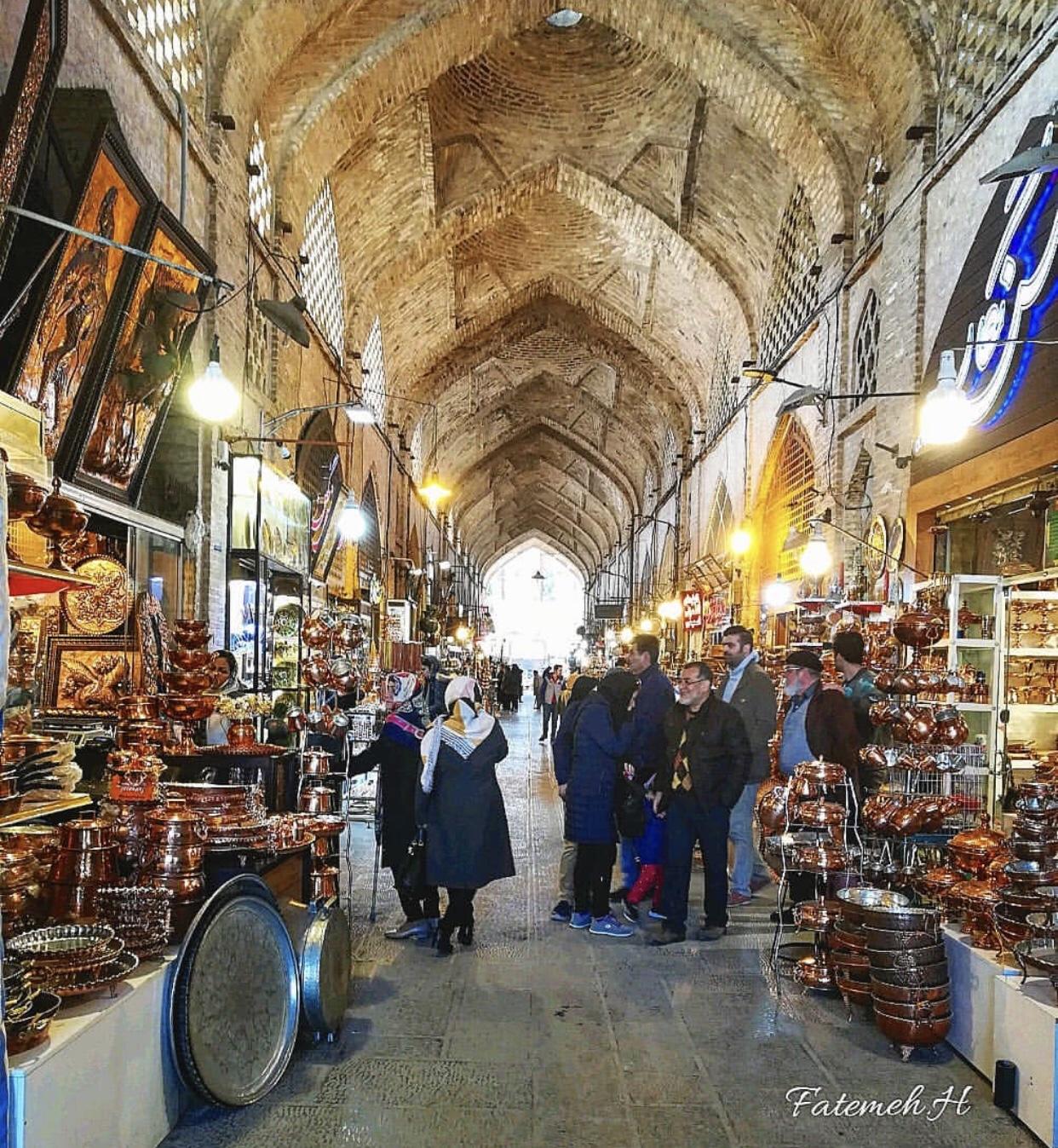 عدسة إيرانية: بازار اصفهان 3