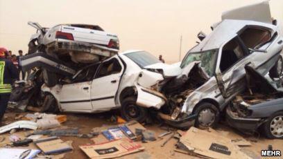 خمسة من إيران: خمسة مسببات للموت في إيران 4