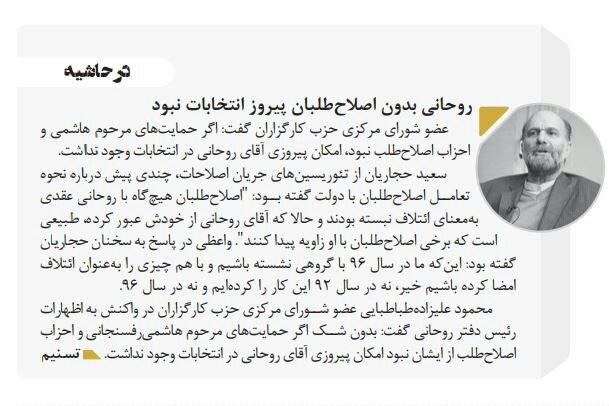 بين الصفحات الإيرانية: دعوات لعودة النخب العلميّة إلى البلاد وأسماء مطروحة لتولي سدانة العتبة الرضويّة 3