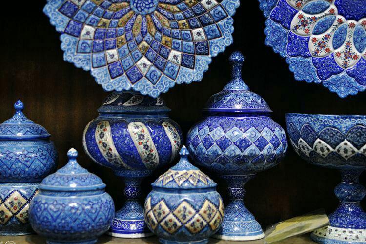 خمسة من إيران: خمس حِرف وفنون يدوية إيرانية 5