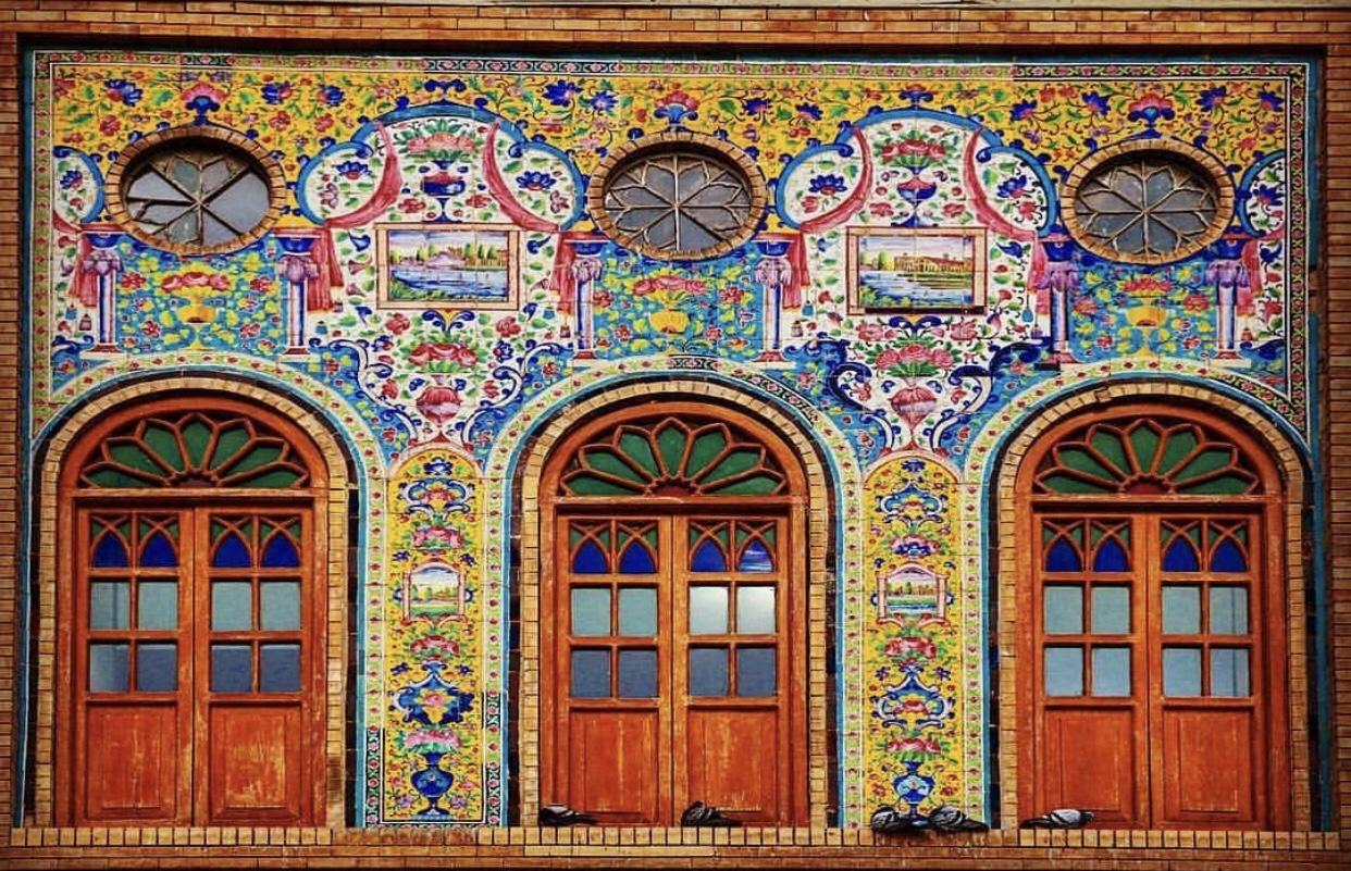 عدسة ايرانية: قصر كلستان 1