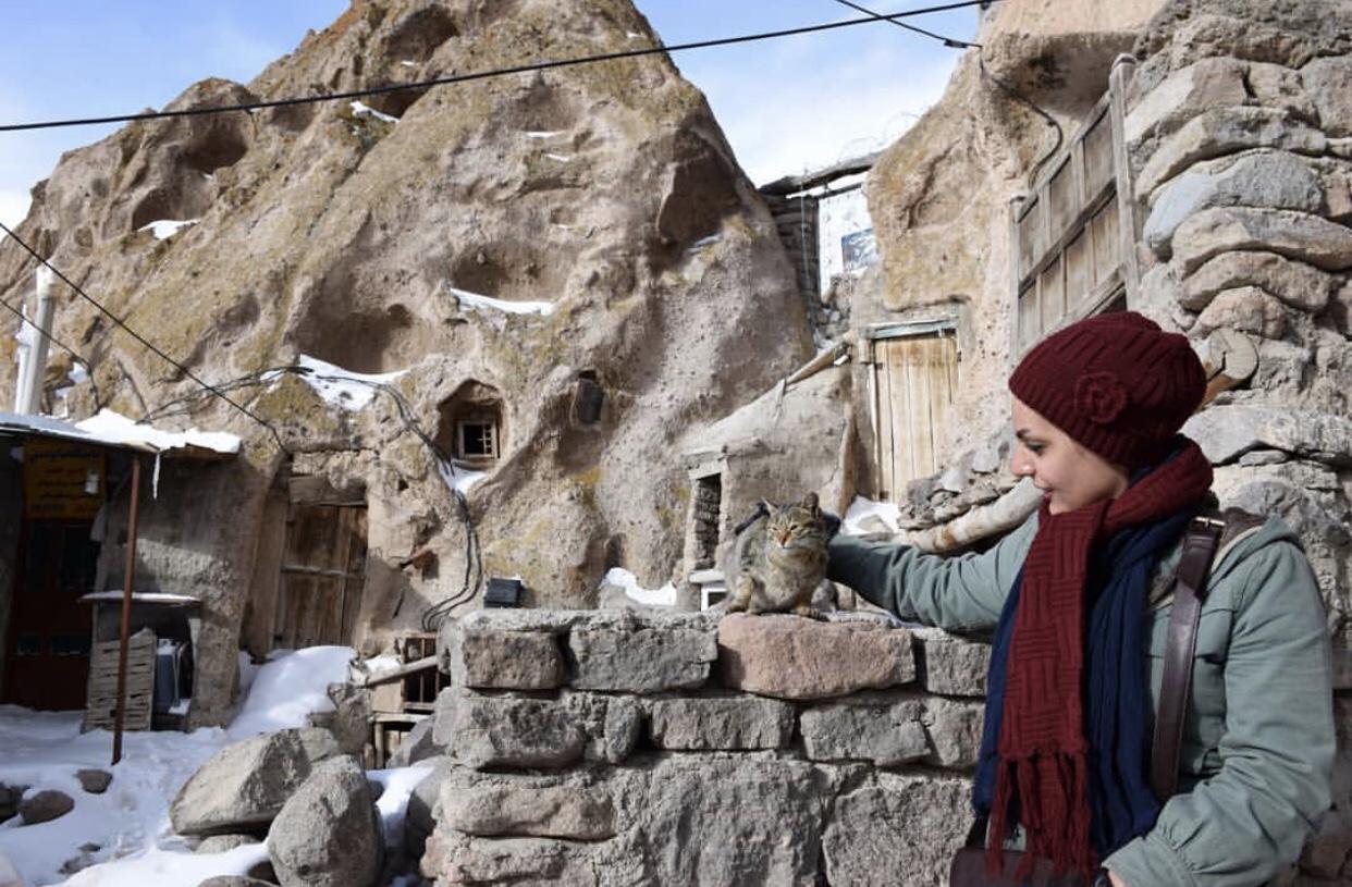 عدسة ايرانية: بيوت كندوان الصخرية 3
