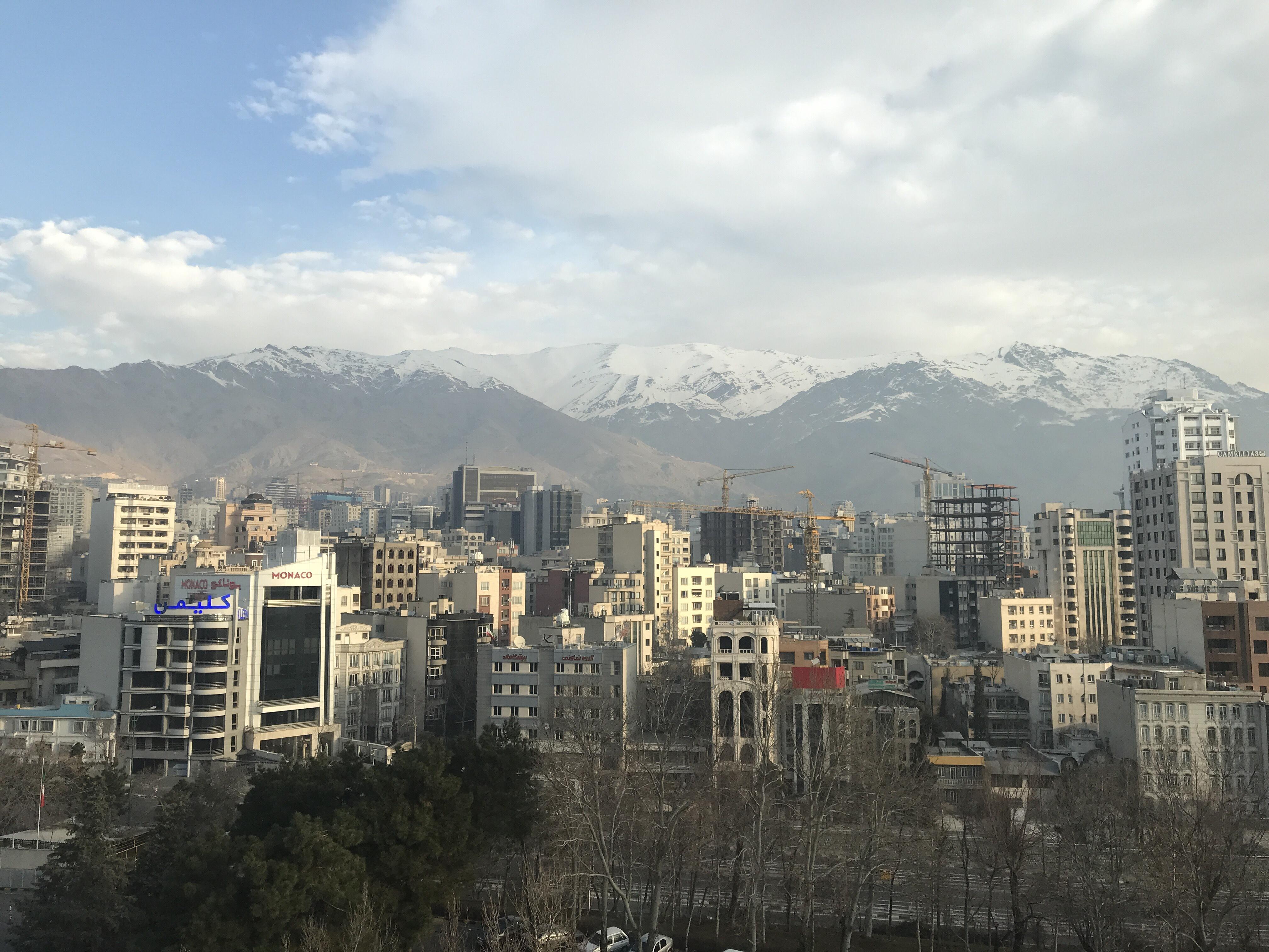 عدسة إيرانية: جبال البرز 1