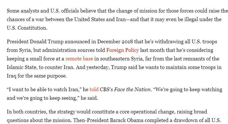 واشنطن- طهران: كيف كاد قرار قصف في سوريا يشعل حربا بين ايران واميركا 1
