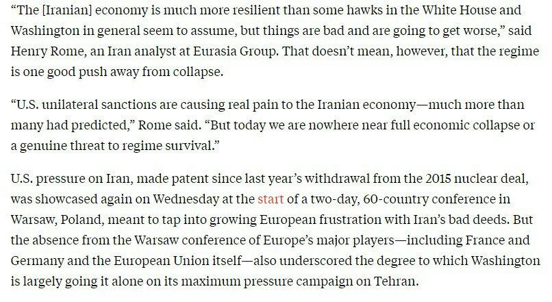 واشنطن - طهران: الاقتصاد الإيراني يتدهور لكنّ الانهيار بعيد المنال 1