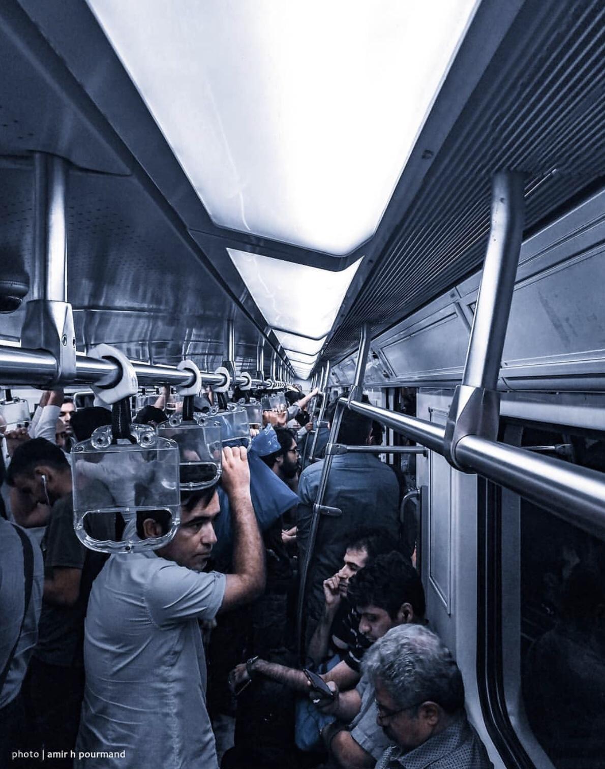 عدسة إيرانية: مترو طهران 1