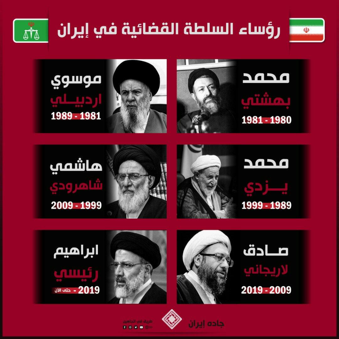 رؤساء السلطة القضائية في إيران قبل رئيسي 1