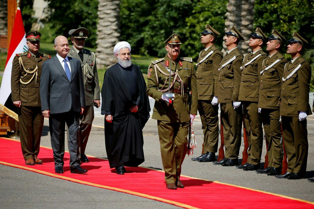 ما الذي حققته إيران من زيارة روحاني للعراق؟ 1