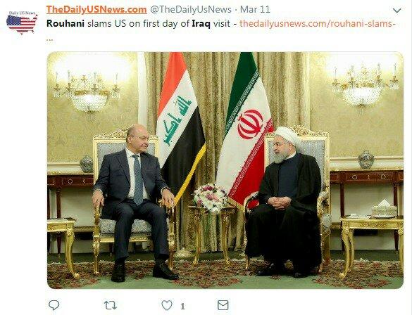 ما الذي حققته إيران من زيارة روحاني للعراق؟ 8