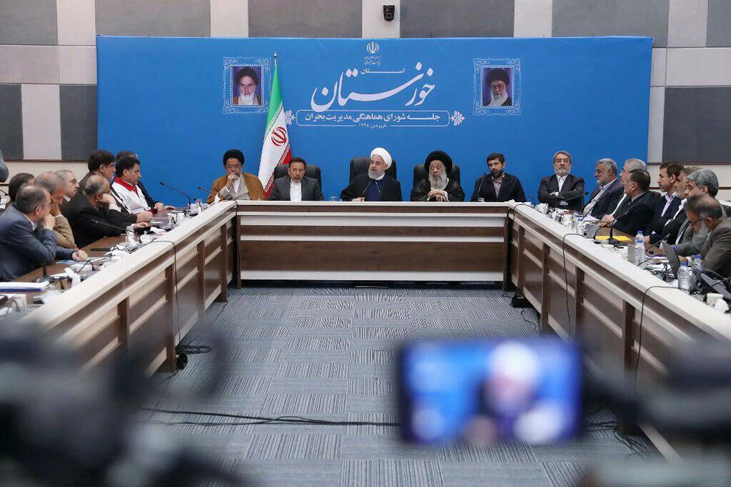 سيول سياسية في إيران، ومركبا روحاني ولاريجاني في خطر 1