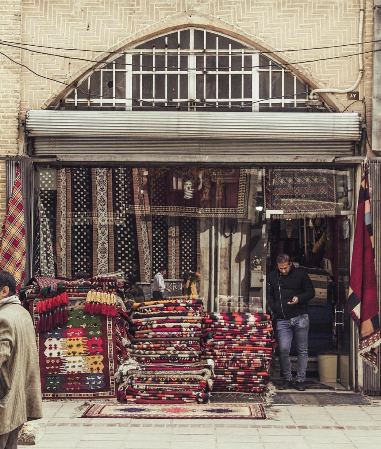 عدسة إيرانية: السجاد درة البازار 1