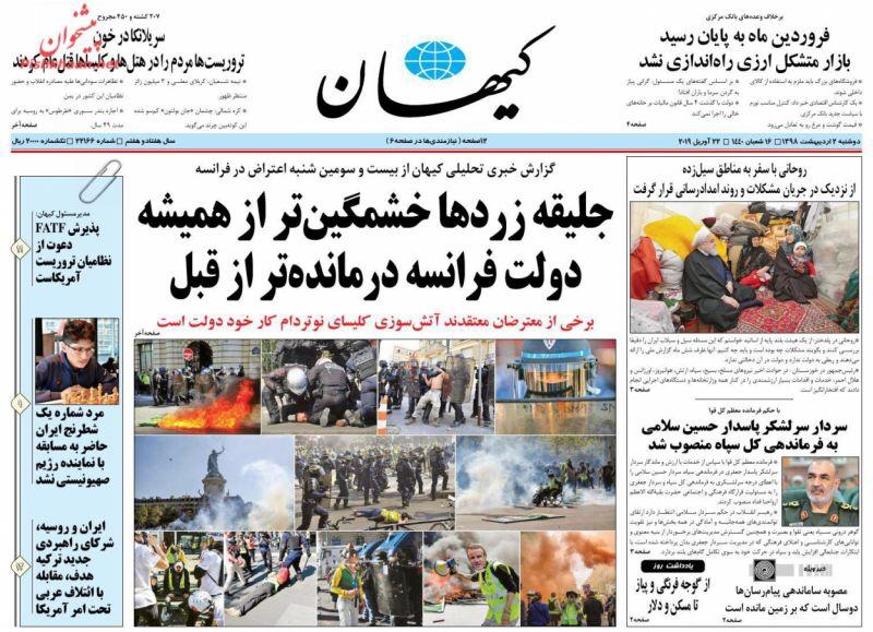 مانشيت طهران: هل يحذف الأصوليون الإصلاحيين؟ 5